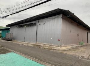 เช่าโกดังลาดพร้าว101 แฮปปี้แลนด์ : OHM296 ให้เช่าโกดัง พร้อมสำนักงาน 2 ชั้น พื้นที่ 504 ตร.ม. ซอยลาดพร้าว 101