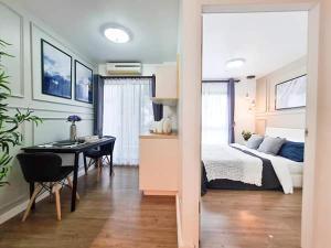 For SaleCondoChaengwatana, Muangthong : W0815 For Sale, I Condo Ngamwongwan 2, 1 bedroom 1 bathroom Size 25 sq.m. 3rd floor, Building A, Newly decorated room