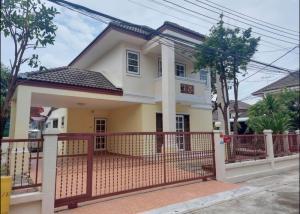 For RentHouseRama5, Ratchapruek, Bangkruai : House for Rent at Laphawan Village, Project 9, near Ratchaphruek Road