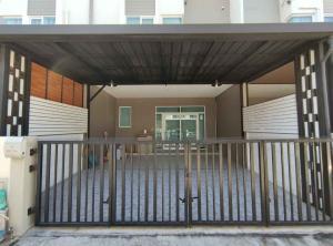 For RentTownhouseBangna, Lasalle, Bearing : LBH0239 Townhome for rent. 2 floors, Casa City Bangna village, fully furnished, near Mega bangna