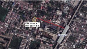For SaleLandKasetsart, Ratchayothin : Land for sale close to BTS Phaholyothin 59  Bangkhen Ratchyothin Senanikom
