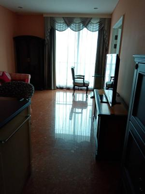 For RentCondoSukhumvit, Asoke, Thonglor : Aguston Sukhumvit 22, 18th floor, 1 bedroom, 1 bathroom, 53 sq m. The room has never been rented.