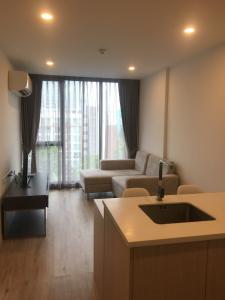 For RentCondoOnnut, Udomsuk : Near BTS On Nut, Serio Sukhumvit 50 for rent, 1 bedroom, beautiful room, proportional, city view, washing machine, microwave, TV, electric + fully furnished, convenient to travel