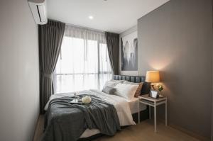 For RentCondoRama9, RCA, Petchaburi : Condo near MRT Phetchaburi, 1 bedroom, elegant room, high floor, clear city view, washing machine, refrigerator, complete Lumpini Suite Phetchaburi - Makkasan