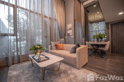 For SaleCondoRama9, Petchburi, RCA : 2 Bedroom Condo for sale at Knightsbridge Space Rama 9  U642398