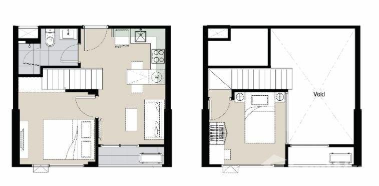 For SaleCondoSukhumvit, Asoke, Thonglor : 2 Bedroom Condo for sale at Maru Ekkamai 2  U908710