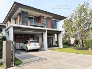 ขายบ้านพระราม 5 ราชพฤกษ์ บางกรวย : ขาย 🔥 บ้านเดี่ยวหลังริม มบ.บุราสิริ โครงการคุณภาพ โดย แสนสิริ บนถนนราชพฤกษ์-345 เชื่อมต่อหลายเส้นทาง  หน้าบ้านทิศใต้ เฟอร์นิเจอร์ครบ พร้อมเข้าอยู่ บ้านใหม่มากกกก ส่วนกลางดีมากกกค่ะ