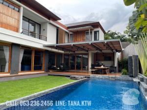 For SaleHouseSukhumvit, Asoke, Thonglor : Luxury detached house for sale Sukhumvit 71 @soi Pridi Banomyong