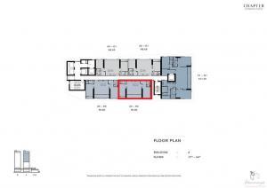 ขายคอนโดวงเวียนใหญ่ เจริญนคร : ขาย แชปเตอร์ เจริญนคร- ริเวอร์ไซด์  A32-02 ตึก A