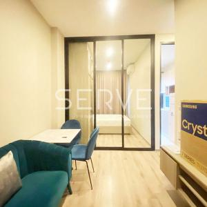 For RentCondoOnnut, Udomsuk : New Room 1 Bed High Fl. 20+ Good Location BTS ON Nut 650 m. at Condo KnightsBridge Prime Onnut / Condo For Rent