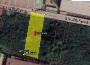 For SaleLandSamrong, Samut Prakan : ขายด่วน ที่ดินสวย บนถนนเทพารักษ์  500 ม.ถึงตลาดใหญ่บางพลี 064-954-9619