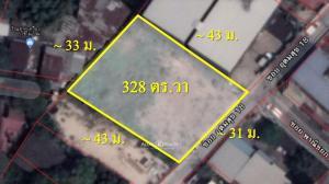 For SaleLandOnnut, Udomsuk : Land for sale, Soi Udomsuk 18, area 169 sq.wah., near Sukhumvit Road.