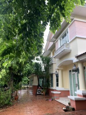 For SaleHouseBang Sue, Wong Sawang : Beautiful house, good project, very good neighbors, safe, no flooding.