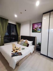 เช่าคอนโดพระราม 9 เพชรบุรีตัดใหม่ : คอนโดให้เช่า  Niche Pride Thonglor-Phetchaburi BA21_09_303_05 ห้องสวย เครื่องใช้ไฟฟ้าครบ ราคา 14,999 บาท