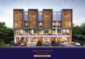 For SaleTownhouseOnnut, Udomsuk : Premium Townhome For Sale located Sukhumvit Area, Near BTS Bang Chak Station