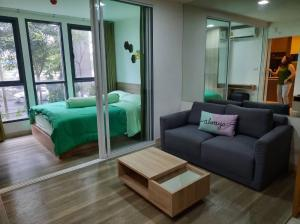 For RentCondoOnnut, Udomsuk : Excellent price for rent, The Moniiq Sukhumvit 64, 2nd floor, Building B, fully furnished, near BTS