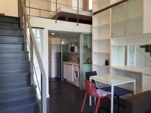 เช่าคอนโดสุขุมวิท อโศก ทองหล่อ : Ideo Morph Sukhumvit38 ห้อง Duplex เช่า 18,000 บาทเท่านั้น ขนาด 38 ตรม พร้อมเช้าอยู่ นัดดูได้เลยค่ะ