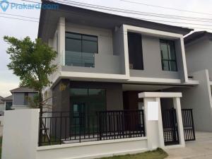 เช่าบ้านเสรีไทย-นิด้า : ให้เช่าบ้านเดี่ยว Aura รามคำแหง94 พร้อมเฟอร์นิเจอร์ เลี้ยงสัตว์ได้