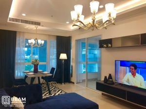 For SaleCondoRatchathewi,Phayathai : SL019_W ✨SUPALAI ELITE PAYATHAI 💖 1 bedroom, 70 square meters wide, pool view.
