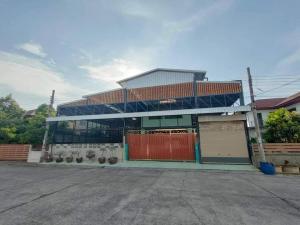 ขายโกดังนครปฐม พุทธมณฑล ศาลายา : ขายบ้านเดี่ยว 2 ชั้นพร้อมโกดัง 91ตรว. อยู่พุทธมณฑลสาย2 พื้นที่ 364 ตร.ม.