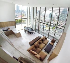 เช่าคอนโดสีลม ศาลาแดง บางรัก : ให้เช่าคอนโด Simese Surawong ขนาด 212.41 Sq.m DUPLEX 4 Bed 5 Bath ราคาเพียง 200000 ราคาคุยได้ครับ