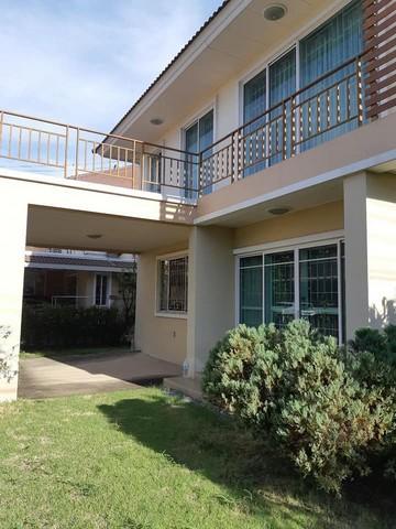 เช่าบ้านนครปฐม พุทธมณฑล ศาลายา : RH610ให้เช่าบ้านเดี่ยว 2 ชั้น หมู่บ้านอาภากร 3 ศาลายา-พุทธมลฑล ใกล้ สนามกอล์ฟรอยัลเจมส์