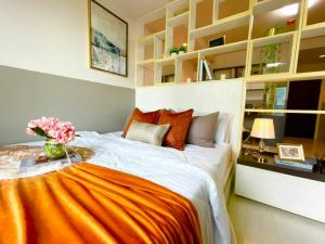 For SaleCondoOnnut, Udomsuk : W0823 Condo for sale, The Log 3, Soi Sukhumvit 101/1, 1 bedroom 1 bathroom, size 29 sq.m. 7th floor, corner room, newly decorated, fully furnished