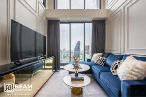 For RentCondoSukhumvit, Asoke, Thonglor : BT004_P😍Beatniq Sukhumvit 32😍**Beautiful room, fully furnished, ready to move in**Convenient travel near BTS Phrom Phong
