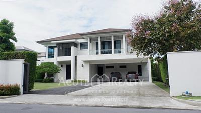 For SaleHouseRattanathibet, Sanambinna : Ladawan Rattanathibet Single house for sale Luxury house Close to MRT Near Central WestGate
