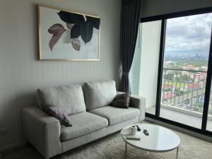 For RentCondoSamrong, Samut Prakan : 💥2 Bed 2 bath (with Bathtub)✨R € N T Knight Bridge Sky River Ocean เช่าคอนโด ไนท์บริดจ์ สกาย ริเวอร์ โอเชียน .▶️ 2 Bed /  2 Bath (Bathtub) 62 Sqm  17th FL.▶️ Fully furnished and electric appliances .🚆 BTS Paknam .THB 1 5 9 0 0 .📞Khun Pat▶️ F