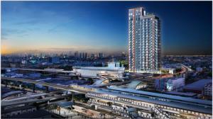 Sale DownCondoRamkhamhaeng Nida, Seri Thai : Sale down payment ORIGIN PLUG&PLAY RAMKHAMHAENG TRIPLE STATION