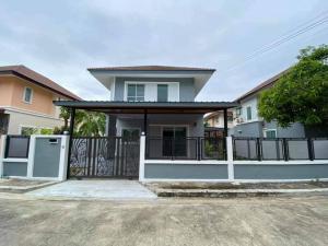 ขายบ้านสำโรง สมุทรปราการ : ธนาคารประเมินสูง ขายถูกบ้านเดี่ยว สินทวีกรีนวิลล์ ประชาอุทิศ90 รหัสSH1012