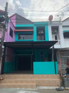 For RentTownhouseNawamin, Ramindra : 🏡 2 storey townhouse for rent (Ruamsuk Villa) Fully renovated for rent in Choi Sai Mai 22 (H081)