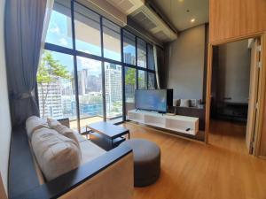 For RentCondoSukhumvit, Asoke, Thonglor : SIAMESE EXCLUSIVE S31 | BTS Phrom Phong (1.2km) #RE0101 | 2BR/2BT (Duplex) | 96sqm | F8 | 1YL | Private Lift