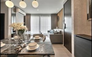 For SaleCondoOnnut, Udomsuk : 2 bedrooms, beautiful decoration, near BTS Phra Khanong, selling cheaply at Rhythm Sukhumvit 44-1.