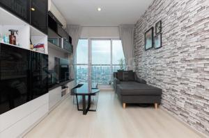 For SaleCondoRatchadapisek, Huaikwang, Suttisan : 2B2B Best Price!  Life Ratchadapisek @5.45MB - High Floor 25+ Condo for Sale Near MRT Huai Khwang