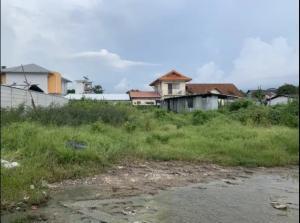 ขายที่ดินมีนบุรี-ร่มเกล้า : ขายที่ดิน ซอยรามคำแหง 164 200 ตารางวา ถมแล้ว หน้าหมู่บ้านเพอร์เฟคเพลส
