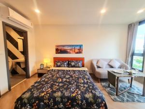 For RentCondoVipawadee, Don Mueang, Lak Si : 💥💥 Urgent rent, 1st hand room, ready to move in 💥💥 (The Base Saphan Mai) #Close to BTS Sai Yut 0 meters