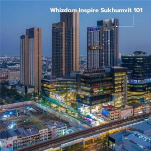 ขายดาวน์คอนโดอ่อนนุช อุดมสุข : เจ้าของขายเอง  ขายขาดทุน Whizdom Inspire Sukhumvit โครงการ Mixed-Use ติด BTS ปุณณวิถี  ขนาด 60.23 ตรม 2ห้องนอน 2ห้องน้ำ