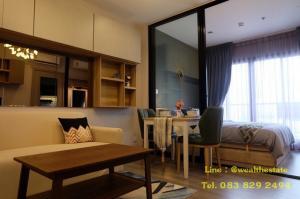 For RentCondoRattanathibet, Sanambinna : For rent  The Politan Rive Condo, 31 sq.m.