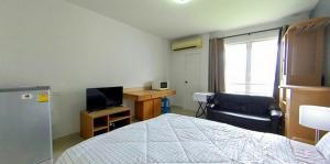 For RentCondoRama9, RCA, Petchaburi : Condo Condo i-House Laguna Garden RCA @MRT Rama 9 Size 30 sq.m 7th floor, Nice View, Fully furnished