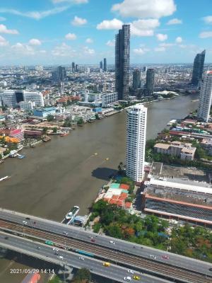 เช่าคอนโดวงเวียนใหญ่ เจริญนคร : 🔥🔥For rent : The River Condominium🔥🔥 3 beds 3 baths only 90K per month ♥️♥️♥️