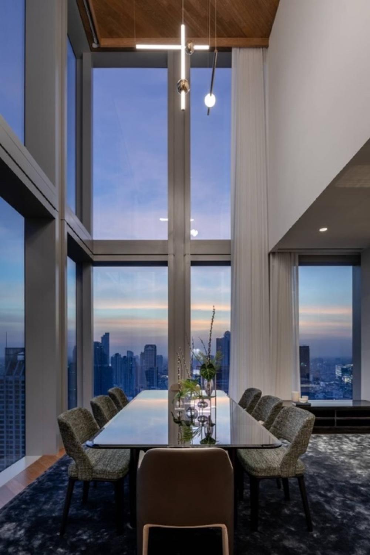For SaleCondoSathorn, Narathiwat : Selling : The Ritz Carlton Sky Residence Sathorn  Duplex Type ,2BEDS,3BATHS,40thfloor,229SQ.M.🔥🔥Selling Price: 134,900,000 THB 🔥🔥