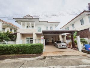 For SaleHouseRama5, Ratchapruek, Bangkruai : ขายบ้านเดี่ยว ขนาดใหญ่ ลลิล รัตนาธิเบศร์-เวสเกต ใกล้สวน สาธารณะในหมู่บ้าน เฟสใหม่ กู้ได้เต็ม 100%