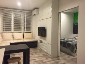 For RentCondoThaphra, Wutthakat : For rent, The Key Sathorn, Ratchaphruek, BTS Wutthakat, 32 sqm., corner room, fully furnished, Building A, 18th floor, corner room 32 sqm., fully furnished, very beautiful room