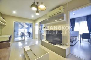 For SaleCondoRama9, RCA, Petchaburi : Condo For Sale Aspire Rama 9, Best price 4.39 million, 49 sq.m., 2 bedrooms, 1 bathroom, Rama 9 location, big room, Pls.call  090-9193641  Jee
