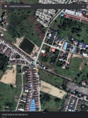 ขายที่ดินพัทยา บางแสน ชลบุรี : ขายด่วนที่ดินสวย ตรงข้าม สิลันตา5ไลฟ์ ราคาถูก
