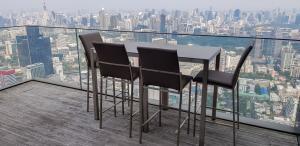 For SaleCondoSathorn, Narathiwat : For sale The Ritz Carlton Residences352.70 sqm stunning view dinning