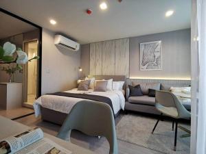 เช่าคอนโดลาดพร้าว เซ็นทรัลลาดพร้าว : 🔻Life Ladprao - 1 ห้องนอน 1 ห้องน้ำ ขนาด 26.5 ตรม ตึก A ชั้น 31 ได้โปรด @ 0631645447