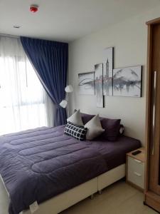 For RentCondoOnnut, Udomsuk : FOR RENT :: Life Sukhumvit 48 : Condo 1 bedroom Floor 12 Nicr room and fully furnished (L21_0332)